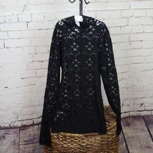 Bcbg lace shirt